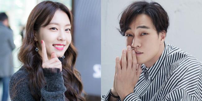 Cặp đôi mới của làng giải trí Hàn: chàng 42, nàng 27.