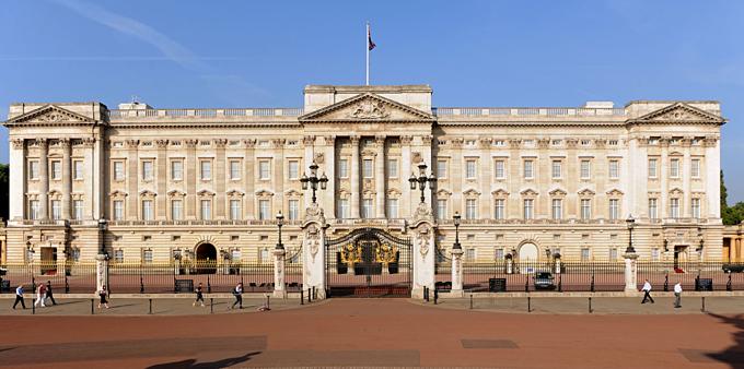 Điện Buckingham - nhà đắt nhất thế giới. Ảnh:Royal UK.