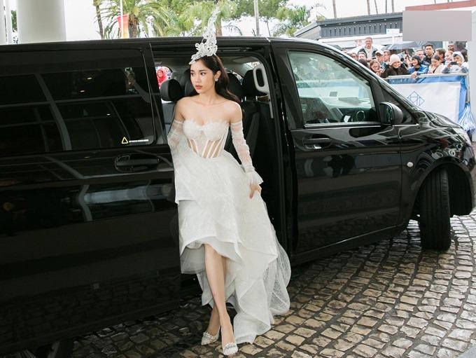 Diễn viên Quỳnh Hương lần thứ hai có dịp dự LHP Cannes.