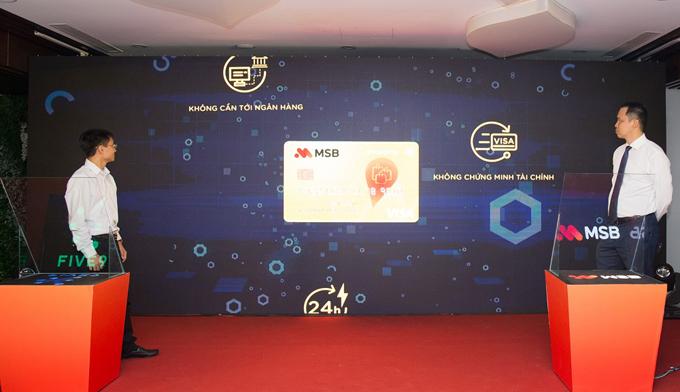 Lễ công bố triển khai ứng dụng trí tuệ nhân tạo (AI) trong việc cấp thẻ tín dụng của MSB hợp tác cùng Five9 diễn ra sáng nay tại Hà Nội.