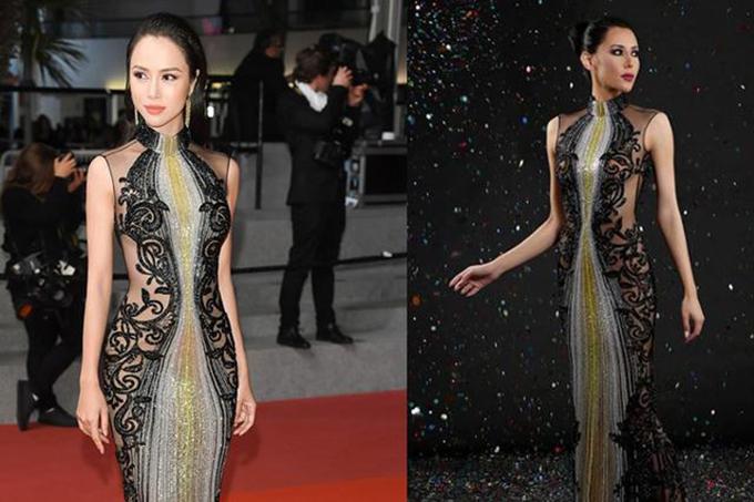 Năm 2018 khi góp mặt tại Liên hoan phim Cannes, Vũ Ngọc Anh cũng từng bị bóc phốt vì