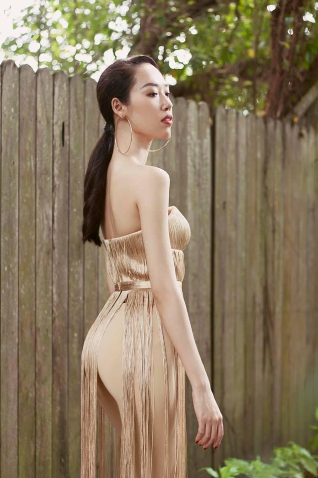 Nhà thiết kế Lưu Ngọc Kim Khanh.