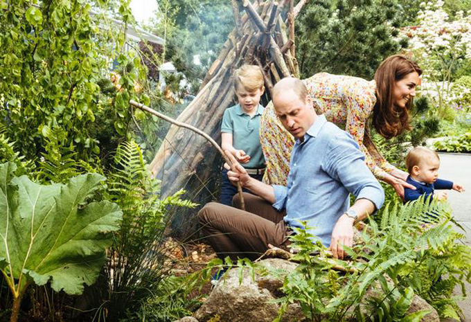 The garden also has a waterfall, rustic den and a campfire as well as tree stumps, stepping stones and a hollow log for children to play on.  Interaction with the natural environment will be encouraged through the gardens multi-sensory green and blue plant scheme.