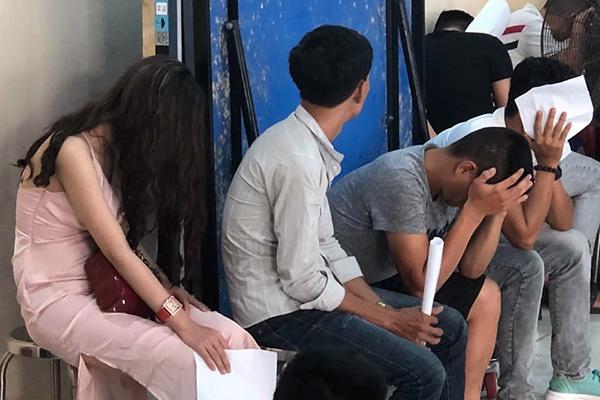 75 người dương tính với ma tuý khi đang vui chơi tại New Phương Đông. Ảnh: H.N.