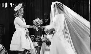 Người phụ nữ giữ hoa cưới cho Meghan