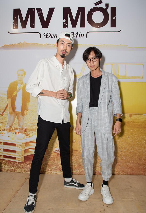Rapper Đen hết lời khen ngợi Min trong họp báo - 6