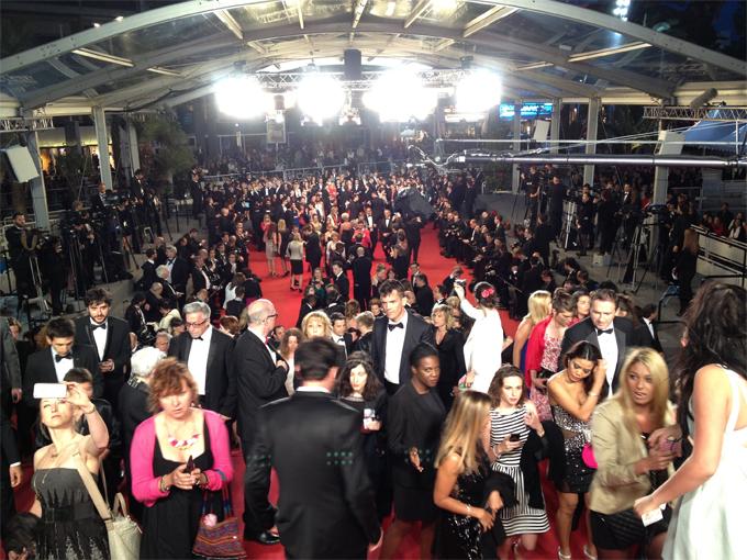 Thảm đỏ Cannes luôn tấp nập trong suốt 10 ngày diễn ra liên hoan phim.