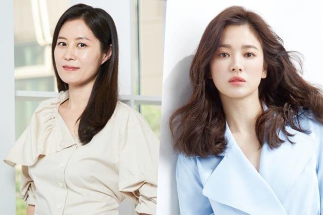 Moon So Ri dành cho Song Hye Kyo những lời khen ngợi.