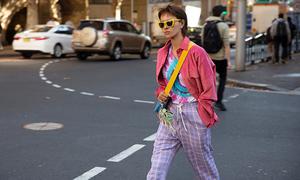 Hà Kino được lên tạp chí Vogue khi dự Sydney Fashion Week