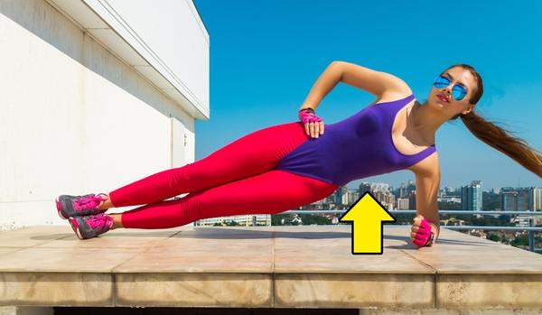 Động tác plank nghiêng Động tác này giúp siết chặt các bó cơ bụng và giảm kích thước tử cung một cách tự nhiên.Thực hiện động tác plank trong tư thế nghiêng, một tay chống xuống sàn làm điểm tựa, tay còn lại chống vào hông. Giữ tư thế từ 20 - 30 giây x 3 hiệpvà tăng dần cường độ sau mỗi buổi tập.