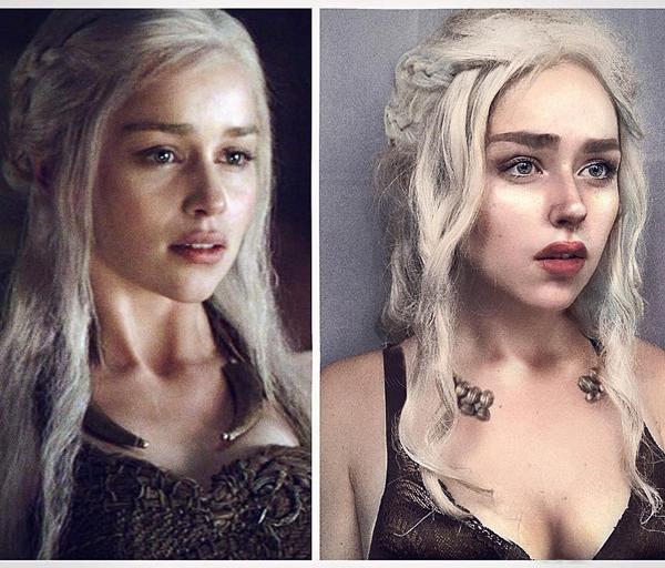 Mẹ Rồng Daenerys Targaryen là một trong những nhân vật tiêu tốn nhiều thời gian hóa trang nhất.