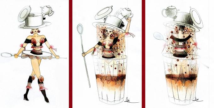 Café phin là hình thức pha chế café bình dân và đại chúng của Việt Nam. Trong đó, Café phin sữa đá là thức uống được chấp nhận bởi nhiều lứa tuổi, giới tính... và từ lâu đã thu hút sự quan tâm của bạn bè quốc tế. Đó là lý do mà Trần Nguyễn Minh Đức mang bài thi