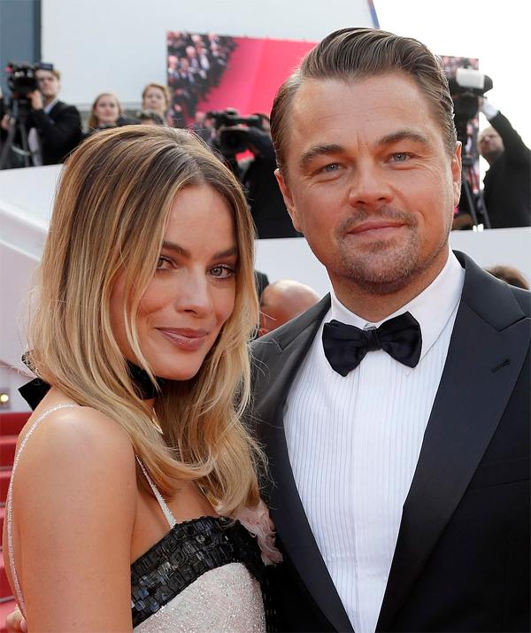 Leonardo DiCaprio và nữ chính Margot Robbie từng kết hợp ăn ý trong bộ phim The Wolf Of Wall Street trước khi tái hợp ở dự án này.