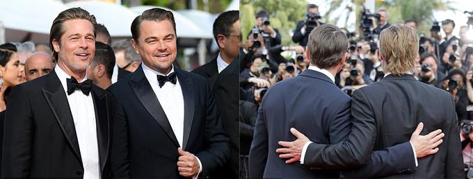 Brad Pitt xuất hiện trên thảm đỏ Cannes sau ly hôn - 5