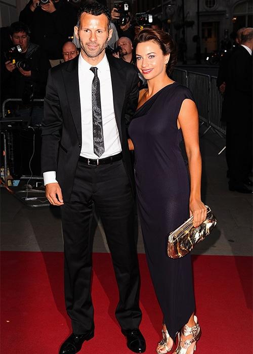 Cựu tiền vệ Ryan Giggs và vợ cũ Stacey khi còn bên nhau.