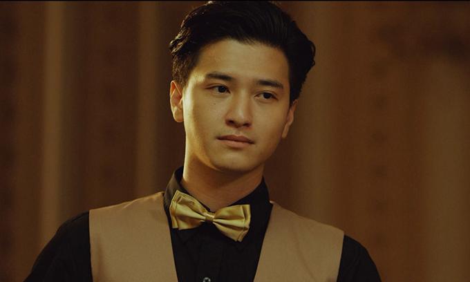 Huỳnh Anh vào vai mưu mẹo trong Vô gian đạo.