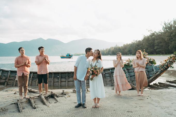 Đám cưới bí mật trên biển của nhạc sĩ Pink Frog - 6