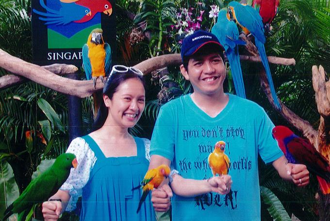Sau hôn lễ, Thanh Thúy và Đức Thịnh đi hưởng tuần trăng mật ở Singapore.