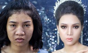 Cưới A-Z: Hướng dẫn makeup giúp cô dâu da sạm 'lột xác'