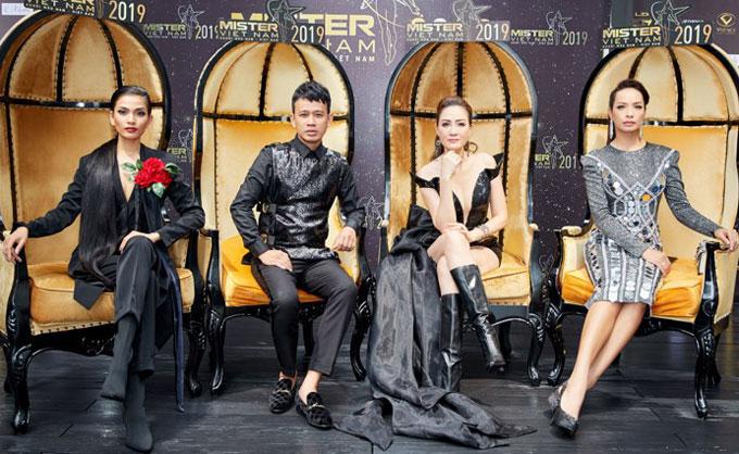 Dàn sao Việt tham gia huấn luyện thí sinh Mister Việt Nam 2019 - 3