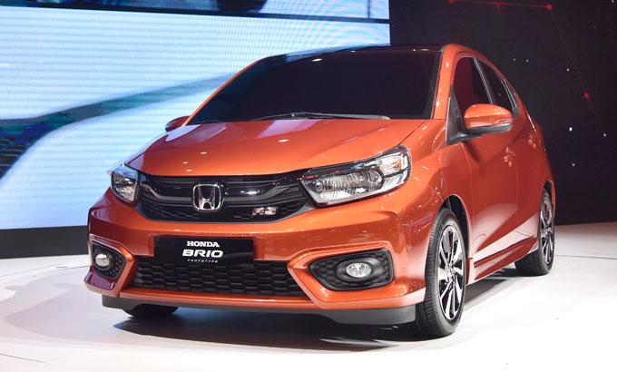 Honda Brio ra mắt tháng 6 với ba phiên bản