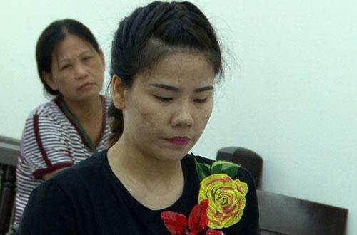 Bị cáo Nguyễn Thị Chang tại phiên tòa.