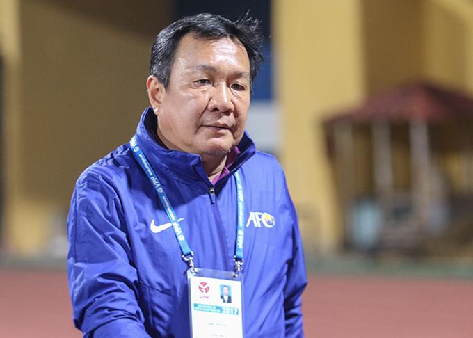 HLV Hoàng Văn Phúc. Ảnh: Đương Phạm.