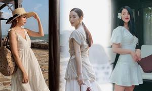 Mặc đẹp như sao Việt với các mẫu váy mùa hè