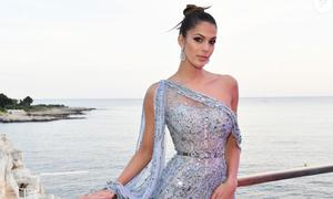 Hoa hậu Hoàn vũ 2016 khoe dáng ở Cannes