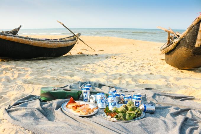 Một bữa tiệc trên bãi biển với loại nước giải khát cũng sẽ giúp các hoạt động của bạn trở nên thú vị hơn.