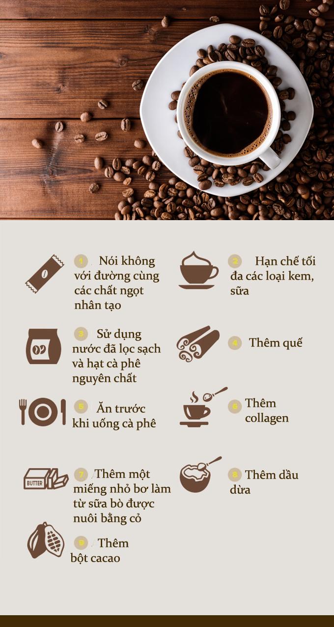 9 cách đơn giản giúp cốc cà phê bạn uống mỗi sáng thêm bổ dưỡng