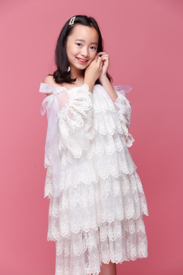 Cô cũng được tin tưỡng chọn làm guơng mặt đại sứ chương trình Asian Kids Fashion Week mùa 3 vừa qua.