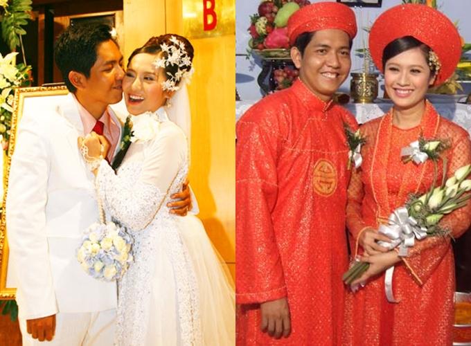 Đám cưới Thanh Thúy - Đức Thịnh diễn ra trong hai ngày.