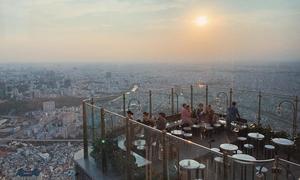 Địa chỉ cuối tuần: Ba quán nước ngắm Sài Gòn từ trên cao