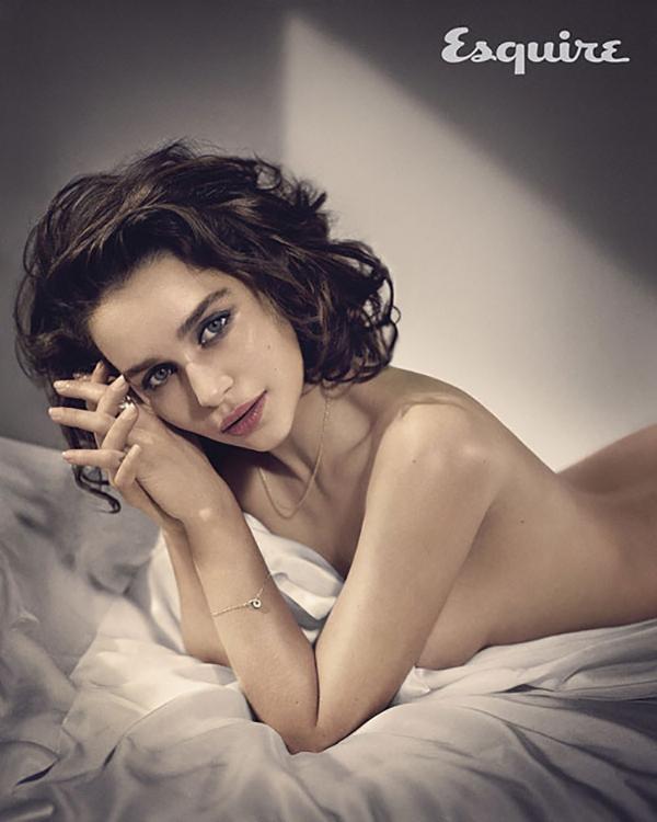 Nữ diễn viên gợi cảm trong bộ ảnh chụp cho tạp chí Esquire năm 2015.