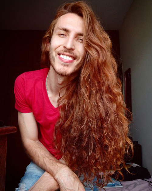 Male Rapunzel who grew hair to 2ft reveals vicious abuse he receives - 1