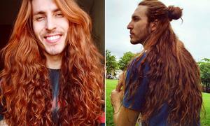 Chàng trai tóc mây nhiều lần bị chế giễu