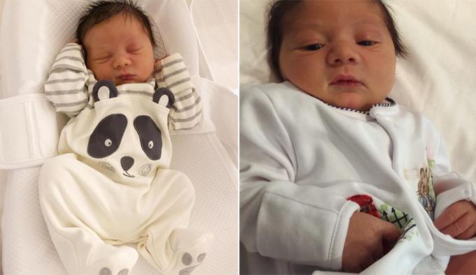Em bé mới sinh nhà Chris Smalling