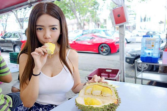 Mẹo ăn sầu riêng mà không bị nóng trong người - 1