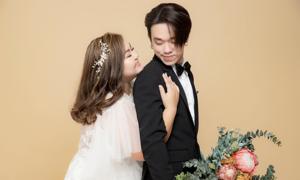 Ảnh cưới của cặp chồng gầy, vợ béo cưới nhau sau 2 tháng hẹn hò