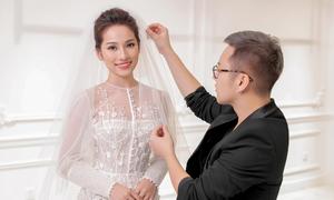 Sara Lưu 'hóa' công chúa với váy cưới Chung Thanh Phong