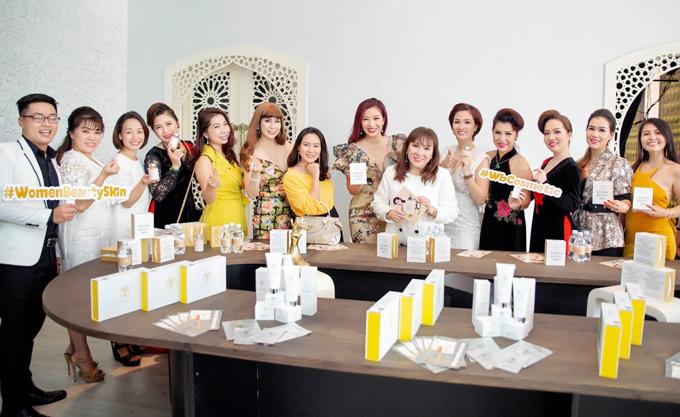 Á hậu Quý bà Thế giới Thu Hương đồng hành cùng WB Cosmetic - 3