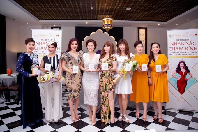 Á hậu Quý bà Thế giới Thu Hương đồng hành cùng WB Cosmetic - 2