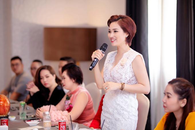 Á hậu Quý bà Thế giới Thu Hương đồng hành cùng WB Cosmetic - 6