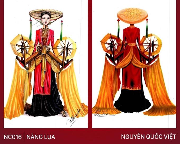 Trang phục Bàn thờ cho Hoàng Thùy thi Miss Universe gây tranh cãi - 4