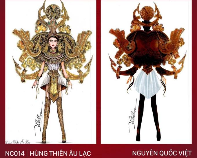 Trang phục Bàn thờ cho Hoàng Thùy thi Miss Universe gây tranh cãi - 5