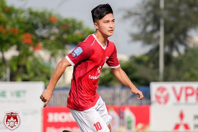Martin Lò quyết tâm cùng Phố Hiến thăng hạng V.League mùa sau. Ảnh: FC Phố Hiến.