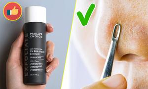 4 cách làm sạch mụn đầu đen vùng mũi, cằm