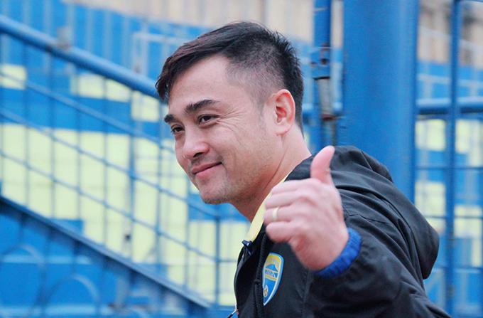 HLV Nguyễn Đức Thắng. Ảnh: FB.