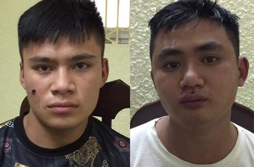 Hai tên trộm tại cơ quan công an.